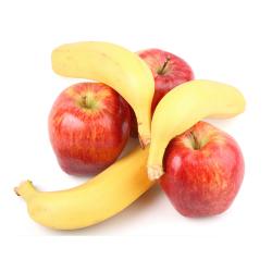 Frutas Ecológicas Plátanos y Manzanas: 5 kg
