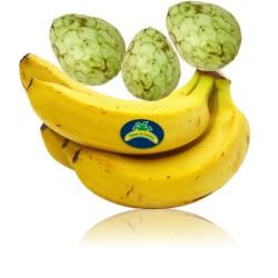 Chirimoyas Ecológicas y Plátanos Ecológicos 5 kg