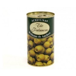 Olives manzanilla with Anchovy, 350 g