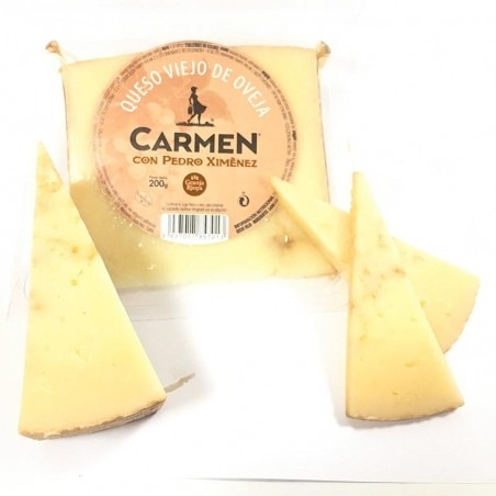 Manchego Cheese cured sheep to the wine Pedro Ximenez - 200 g